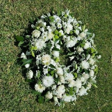 corona blanca hortiflor floristas 3-s