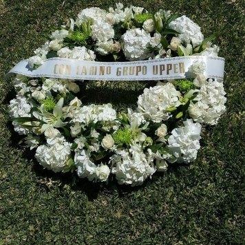 corona hortensias hortiflor floristas 1-s