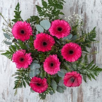 ramo gerveras hortiflor floristas 2