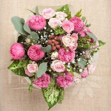 ramo romantico hortiflor floristas 3