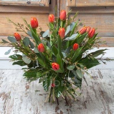 ramo tulipanes hortiflor floristas 2