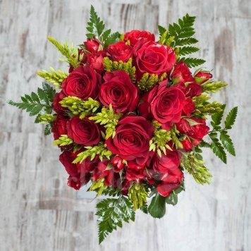 bouquet rosas rojas hortiflor floristas 1-s