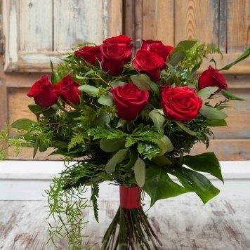 ramo rosas rojas hortiflor floristas 1-s